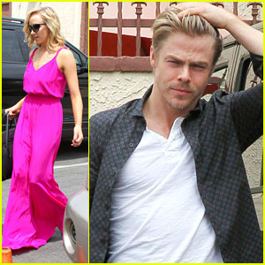 Derek Hough Backs Nastia Liukin After DWTS Video Package: 'She's Incredibly Gracious & Humble'
