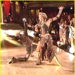 Nastia Liukin Fights With Sasha Farber For Their Paso Doble on 'DWTS' - Watch Now!
