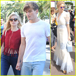 Pixie Lott & Oliver Cheshire Head Back To London After Short Trip To Cannes