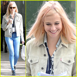 Pixie Lott Rehearses For VE Day 70 Concert in London