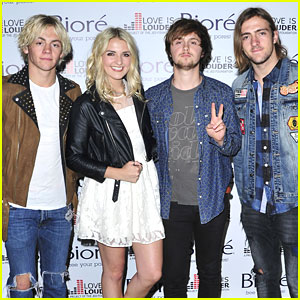R5 Join Brittany Snow For Biore 'Love Is Louder' Project Event