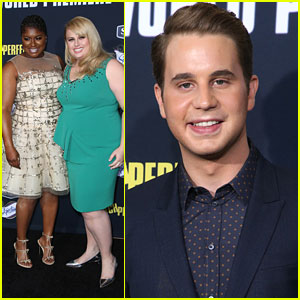 Rebel Wilson & Ben Platt Hit All The Right Notes At 'Pitch Perfect 2' Premiere