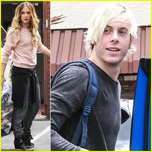 Riker Lynch Gets Lift From Noah Galloway During DWTS Practice