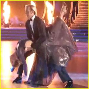 Riker Lynch & Allison Holker Get Emotional For Viennese Waltz on 'DWTS' - Watch Now!