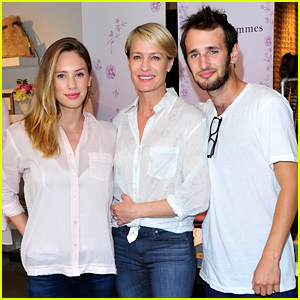 Dylan & Hopper Penn Support Their Mom At Her Fashion Line Launch