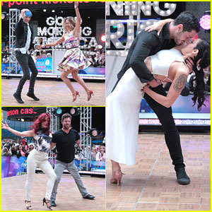 Riker Lynch Opens Up About DWTS Freestyle With Allison Holker on 'Good Morning America'