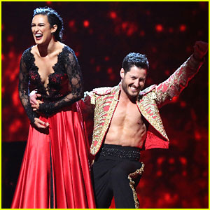 Rumer Willis & Val Chmerkovskiy Head To DWTS Semi-Finals After Perfect Dances