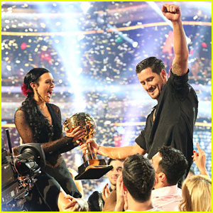 Rumer Willis & Val Chmkerkovskiy Celebrate Winning 'Dancing With The Stars' Season 20 - See The Pics!