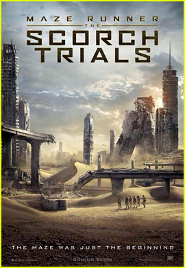 Check Out the First Poster for 'Maze Runner: The Scorch Trials'!
