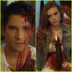 Tyler Posey & More MTV Stars Die in Freaky New 'Scream' Promo - Watch Now!