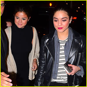Selena Gomez Supports Vanessa Hudgens on Broadway!