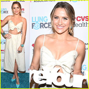 The Messengers' Shantel VanSanten Honored By American Lung Association