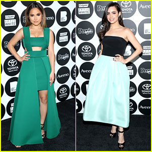Descendants' Sofia Carson & Becky G Are Definitely The Most Beautiful At People En Espanol's 50 Most Beautiful Gala