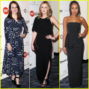 Sophie McShera & Laura Carmichael Get Dolled Up for 'Downton Abbey' Ball