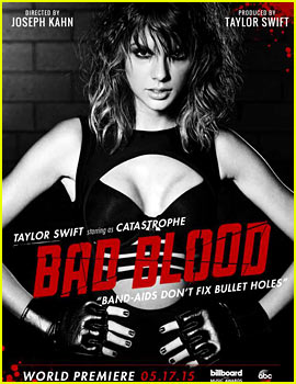 Taylor Swift's Celeb Posters for 'Bad Blood' - See Them All!