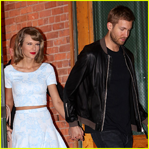 Taylor Swift Dines in Little Italy with Boyfriend Calvin Harris
