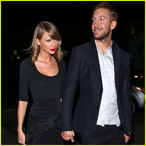 Taylor Swift & Calvin Harris Take Their Romance Public!