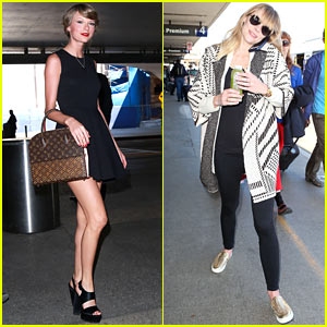 Taylor Swift Jets Off To Japan for Her Tour!