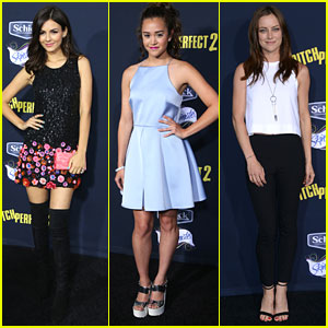 Victoria Justice Brings Her Mom To 'Pitch Perfect 2' Premiere