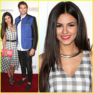 Victoria Justice & Sister Madison Reed Hit Up Nylon's Young Hollywood Party