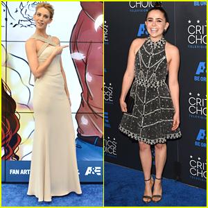 Mae Whitman & Yael Grobglas Hit Up Critics' Choice Television Awards 2015