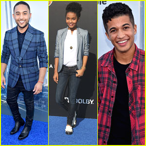 Tahj Mowry & The Casts of 'black-ish' & 'Teen Beach 2' Find Their Way To 'Tomorrowland'