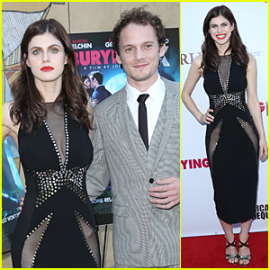 Alexandra Daddario Wears No Underwear at 'Burying the Ex' Screening in Hollywood
