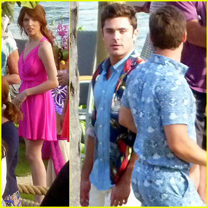 Zac Efron & Anna Kendrick Kick Week Off With 'Mike and Dave Need Wedding Dates' Filming