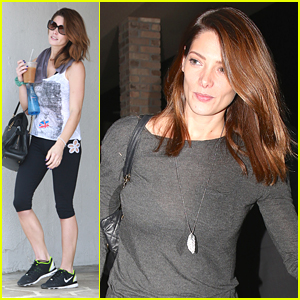 Ashley Greene Works Out After New 'Burying The Ex' Trailer Debuts