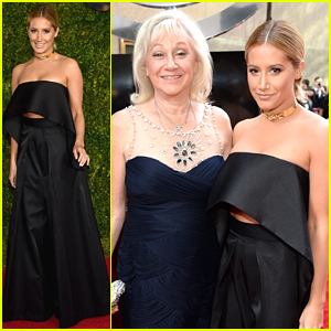 Ashley Tisdale Brings Mom Lisa To Tony Awards 2015
