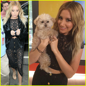 Ashley Tisdale Hangs Out With Megan Nicole on the 'Clipped' Set (Video)
