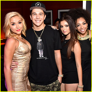 Austin Mahone Stops by Mille Thrasher's Sweet 16 Party With Sweet Suspense!