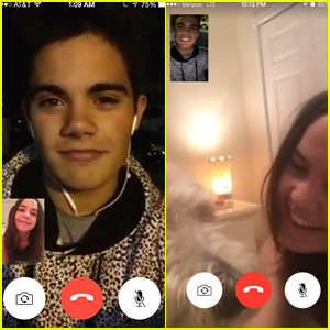Bailee Madison & Emery Kelly Are the Cutest Late-Night Facetimers Ever