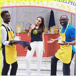 Bailee Madison Teams With Alex's Lemonade Stand To Inspire & Spreads Awareness of Pediatric Cancer in Philadelphia