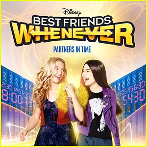 Lauren Taylor & Landry Bender Go Time Traveling In 'Best Friends Whenever' Exclusive Poster - See It Here!