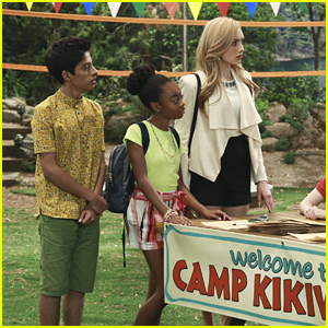 Emma, Zuri & Ravi Ross Are Ready For Camp In New 'Bunk'D' Pics