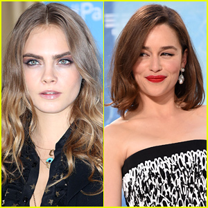 Cara Delevingne Competes in an Eyebrow Competition! (Video)