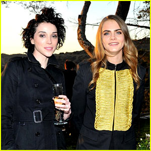 Cara Delevingne & St. Vincent's Best Photos Together!