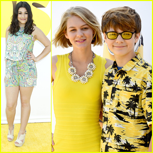 Dana Gaier & Ty Simpkins Hit The 'Minions' Premiere in Hollywood