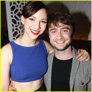 Daniel Radcliffe Supports Girlfriend Erin Darke at 'The Spoils' Opening Night