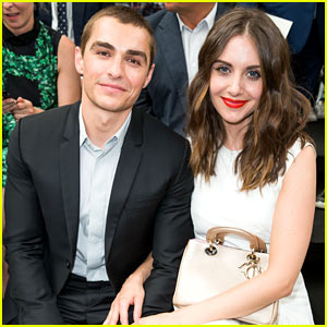 Dave Franco & Girlfriend Alison Brie Couple Up at Dior Homme Show!