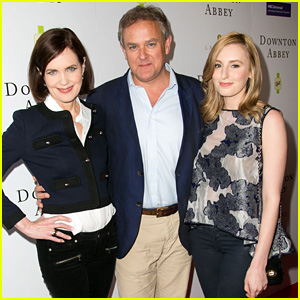 Laura Carmichael Hits Up 'Downton Abbey' Q&A With Co-Stars in Beverly Hills