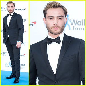 Ed Westwick Celebrates Birthday At Walkabout Foundation Gala in London