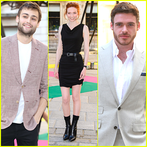 Douglas Booth & Richard Madden Suit Up For The Royal Academy's Summer Exhibition