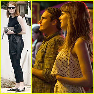 Emma Stone's 'Irrational Man' Character Falls in Love in New Stills