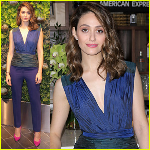 Emmy Rossum Often Donates Clothes to Goodwill