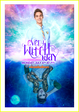 Why Does Daniel Have A Snake Around His Shoulders In The New 'Every Witch Way' Poster?