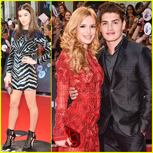 Hailee Steinfeld Joins Bella Thorne & Gregg Sulkin at MuchMusic Video Awards 2015!