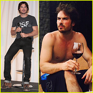 Ian Somerhalder Shares Another Hot Shirtless Pic From Honeymoon