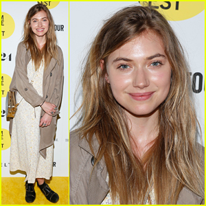 Imogen Poots Keeps It Casual for 'The End Of Tour' Screening!